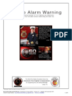 Smoke Alarm Warning - Volunteer Fire Fighters Association