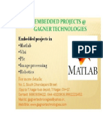 Matlab Projects in chennai