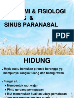 ANATOMI-FISIOLOGI HIDUNG