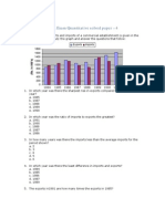 Bank Exam Quantitative Solved Paper- 4