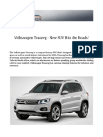 Volkswagen Touareg - New SUV Hits the Roads!