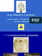 Grado 12 Gran Maestro Arquitecto
