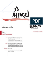 Libro de estilos Miru-Miru (Benkyô)