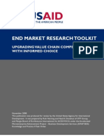 Value Chain End Market Toolkit