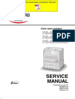 KYOCERA FS-8000C Service Manual Pages