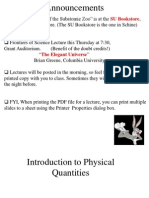 Lec22 Physical Quantities