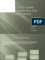 Michaeel Porter Five Forces Case Study