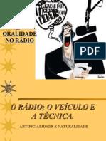 Oralidade no Rádio