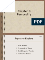 4-1 Chapter 8 Personality