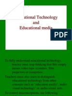 VII. Educational Technology and Educational Media