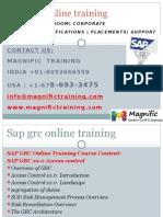 Sap Grc Online Training in usa,uk,canada