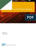 Sap Netweaver Bw Query Processing
