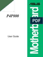 Asus p4p800 Manual