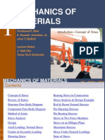 Mechanics Of Materials Chap 1
