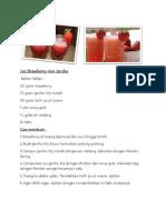 Jus Strawberry Mix Jambu