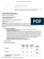 Assessor's Manual, Volume 4, Exemption Administration