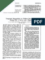 Thalidomide vs. Fallout; le Vann Study