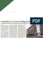 Israelischer Ex-General verklagt Bank in der Schweiz