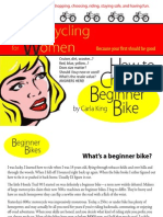 Motorcycling for Women: How to Choose a Beginner Bike