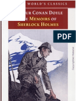 Arthar Conan - Memoires of Sherlock Holmes