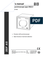 RSQ-3 Users Manual 4189340264 UK