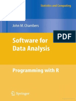 Software for Data Analysis-programming Using R