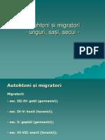 Autohtoni și migratori