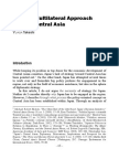 Japan Multilaterism in Central Asia.pdf