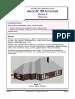 AutoCAD 3D Advanced Sample Modules - The CAD Guys