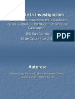 Presentacion Catardo, Peregalli, Satrano.pps