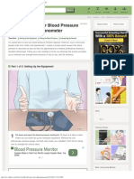 In-Depth Guide_ How to Check Your Blood Pressure With a Sphygmomanometer