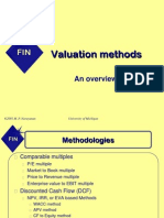 More on Valuating
