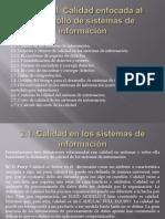 Unidad II- Calidad enfocada al desarrollo de sistemas de información.pptx