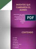 INVENTOS QUE CAMBIARON EL MUNDO.pptx