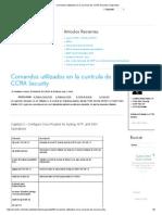 Comandos utilizados en la currícula de CCNA Security _ Seguridad.pdf