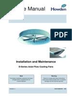 04_Howden_Installation-Maintenance D-Series Fans.pdf