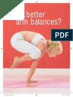 The Secret to Better Arm Balances