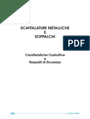 Guida Alla Sicurezza Delle Scaffalature Industriali E Dei Soppalchi.Scaffalature E Soppalchi Metallici Manuale