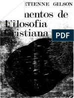 GILSON, Etienne - Elementos de filosofía cristiana .pdf