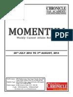 momentum 3 August 2014