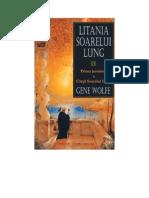 Wolfe Gene - Cartea Soarelui Lung - Litania Soarelui Lung