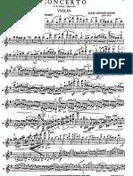 Mendelssohn Violin Concerto 1st Mvt Violin Part