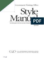 Gpo Stylemanual 2008