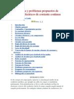 Teoría básica y problemas propuestos de circuitos eléctricos de corriente continua.doc