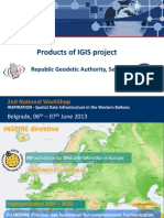 Products of IGIS Project