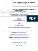 Reif & Brodbeck 2014 OPR Initiation of Negotiation & Its Role in Negotiation Research Foundations of a Theoretical Model