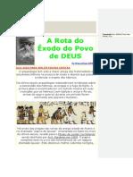 A Rota do Êxodo do Povo de DEUS.docx