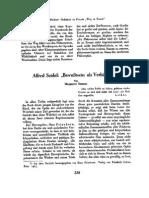 Alfred Seidel Bewußtsein Als Verhängnis
