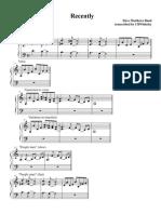 Recently - piano tab.pdf
