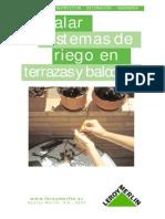 Anon - Instalacion De Sistemas De Riego En Terrazas Y Balcones.PDF